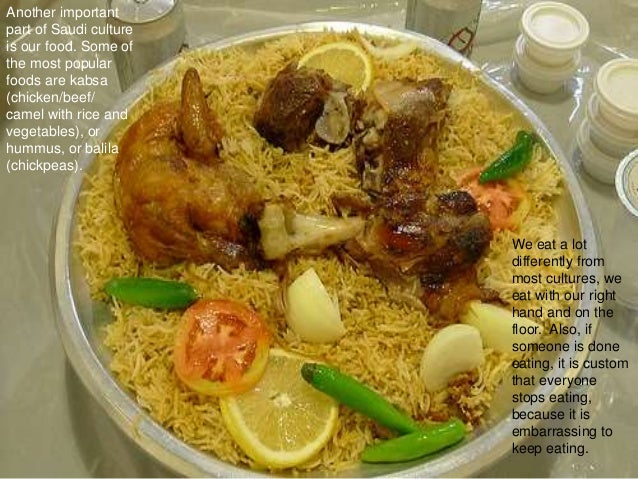 saudi arabia culture and food Over the last few years, the consumer food service industry in saudi arabia has grown rapidly, with the total market for restaurants, cafes and canteens increasing by 133 per cent.