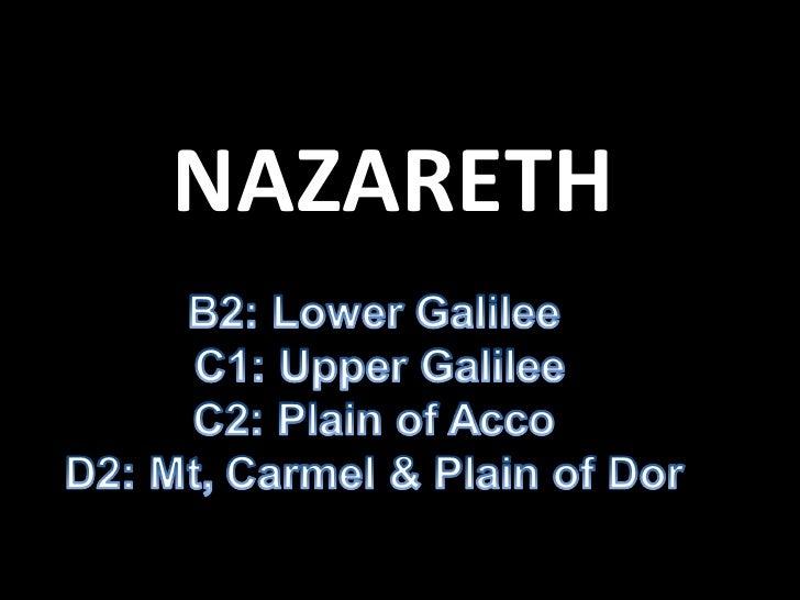 Nazareth region 1
