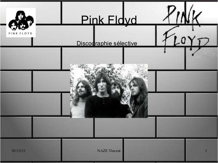 Pink Floyd Discographie sélective