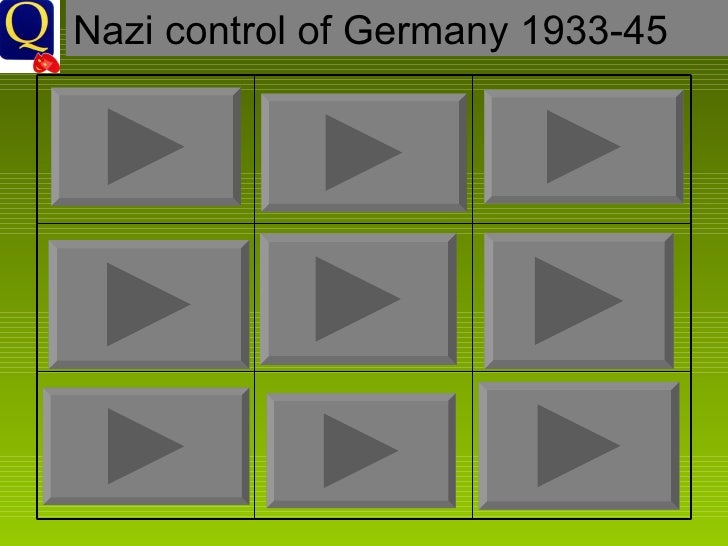 Nazi control of Germany 1933-45