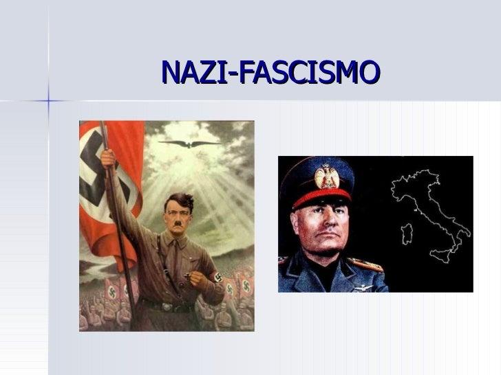Nazi fascismo a