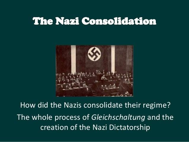 Nazi consolidation