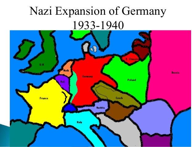 Nazi Expansion of Germany 1933-1940