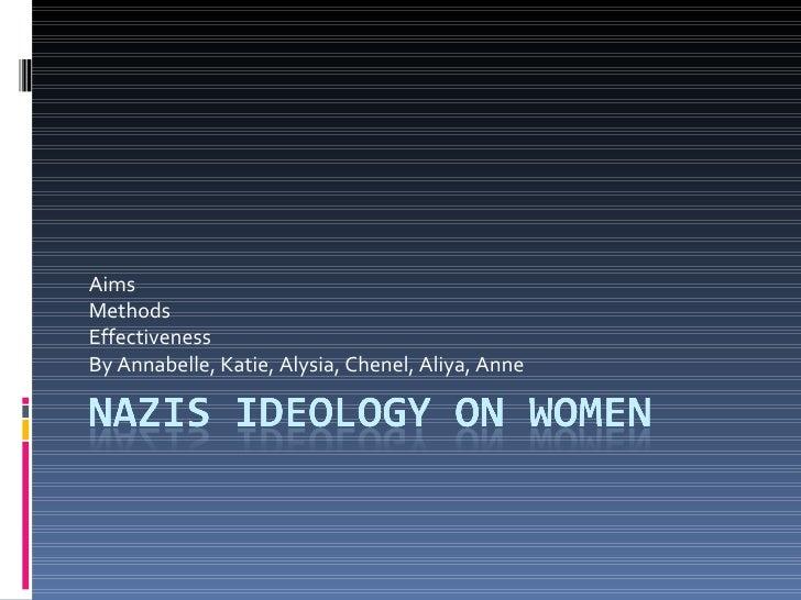 Nazi Ideology - Women