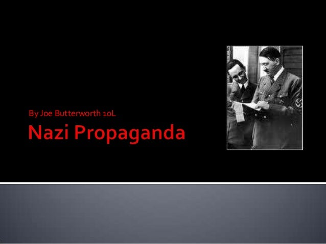 Nazi propaganda by joe b