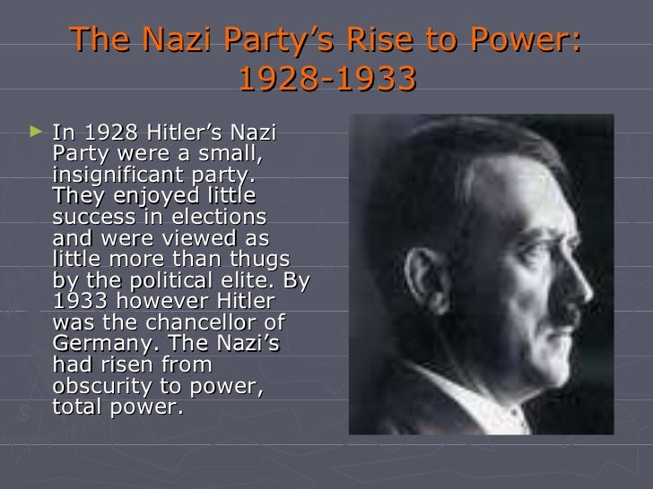 an analysis of the reasons behind adolf hitlers rise to power Get access to hitlers rise of evil essays only understand the reason behind adolf hitlers rise to power the main reasons for hitler's rise to power in the.