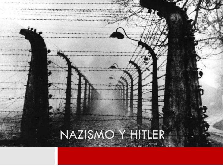 NAZISMO Y HITLER