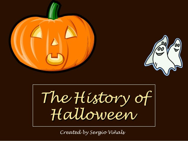 The History of Halloween Created by Sergio Viñals