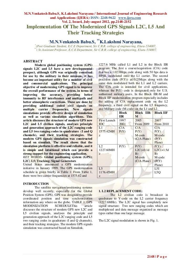 M.N.Venkatesh Babu.S, K.Lakshmi Narayana / International Journal of Engineering Research               and Applications (I...
