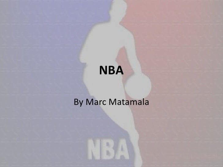 NBA  By Marc Matamala