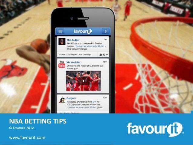 NBA BETTING TIPS© Favourit 2012.www.favourit.com