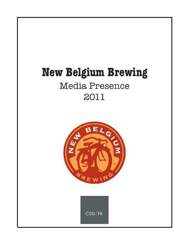 New Belgium Brewing 2011 Clipbook