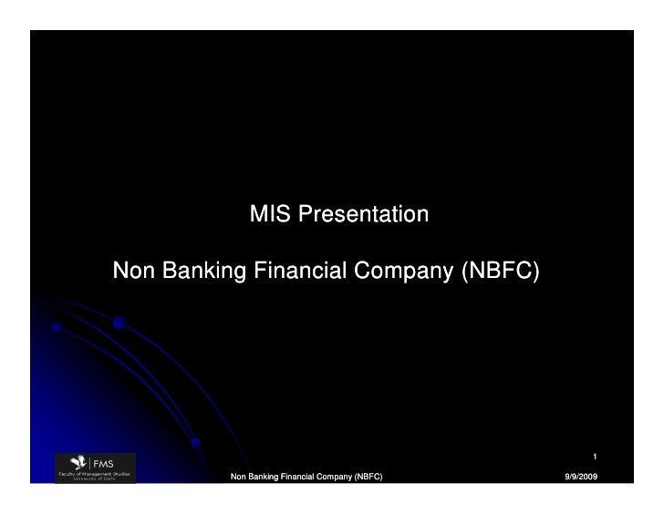 Non Banking Financial Company