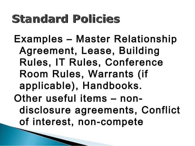 Creating Effective Policies & Procedures for Your Incubator