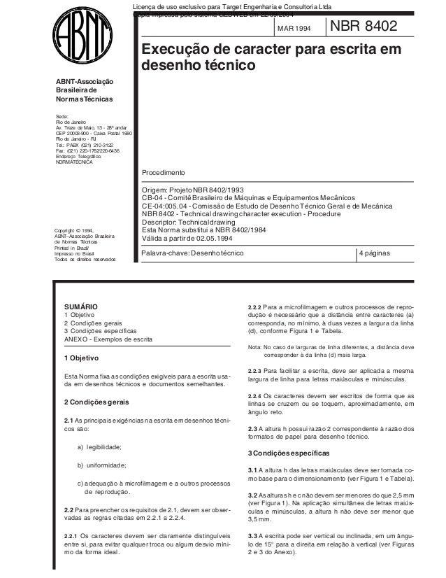 Licença de uso exclusivo para Target Engenharia e Consultoria Ltda Cópia impressa pelo sistema GEDWEB em 22/09/2004  MAR 1...