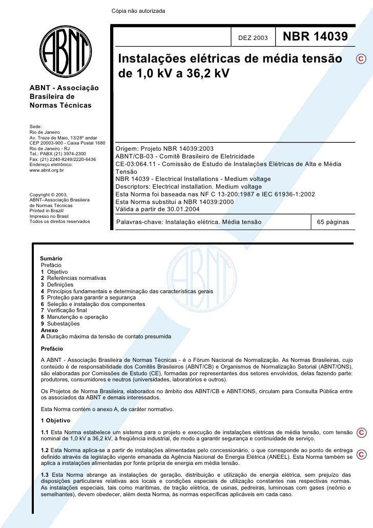 Cópia não autorizada                                                                                DEZ 2003         NBR 1...