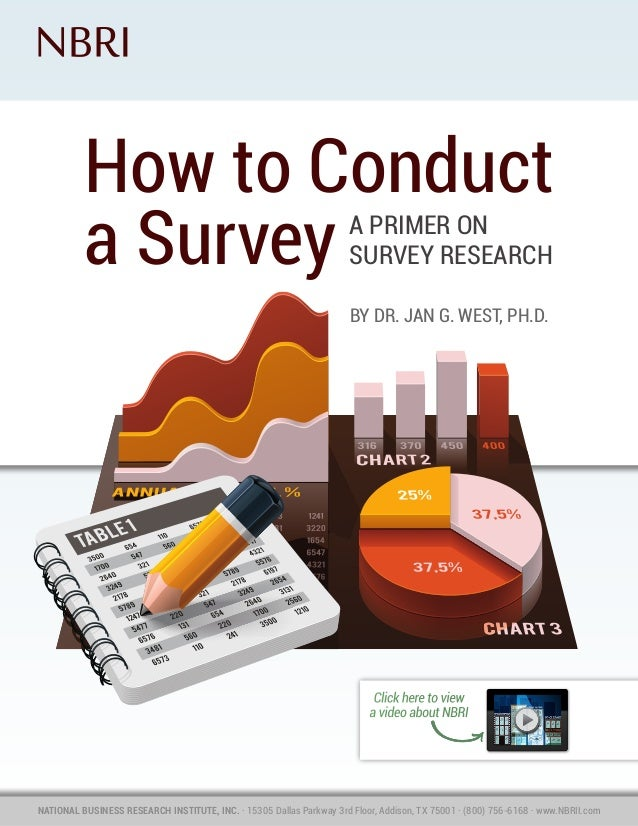 How to Conduct a Survey - eBook