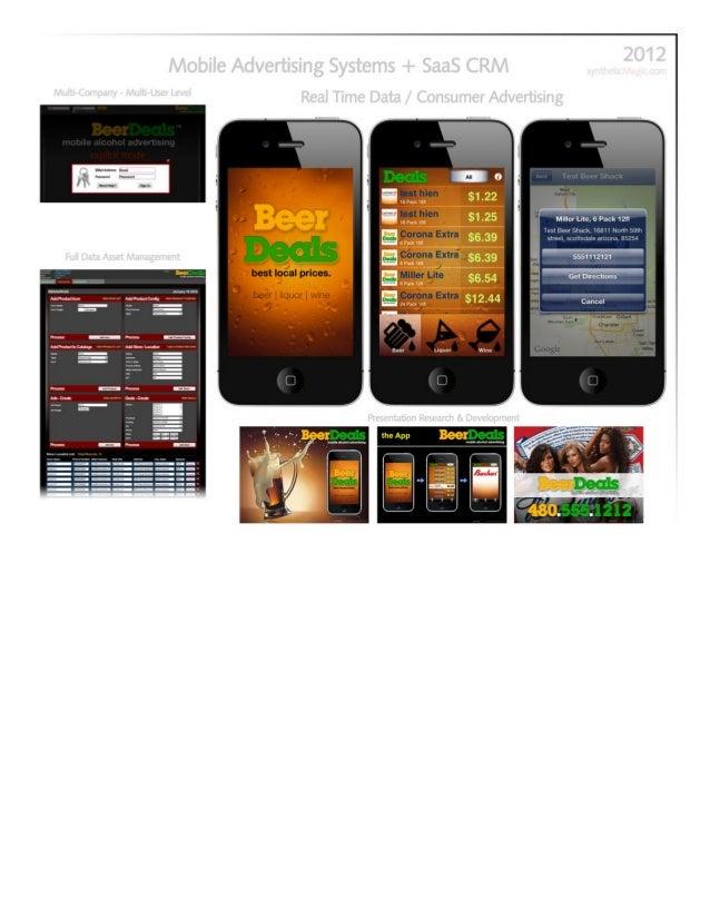 iPhone Consumer + Web Services Mobile App Nathaniel Adam Briggs