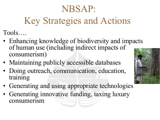 National biodiversity strategy and action plan india