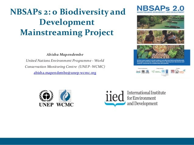 National Biodiversity Strategies & Action Plans 2.0: Project overview