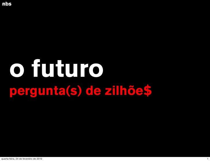 """Introdução de Jurandir Craveiro a """"O Futuro da Comunicação e da Mídia Social"""" de Gerd Leonhard"""