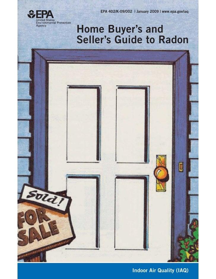 EPA Guide to Radon