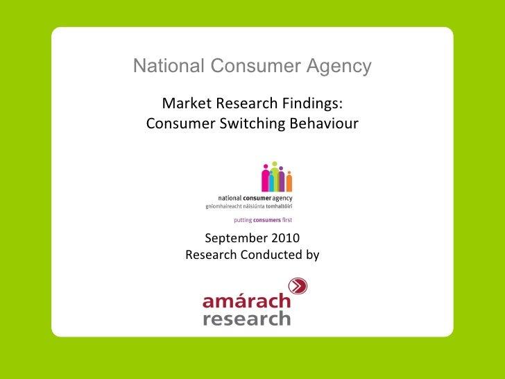 Nca switching-behaviour-sept-2010