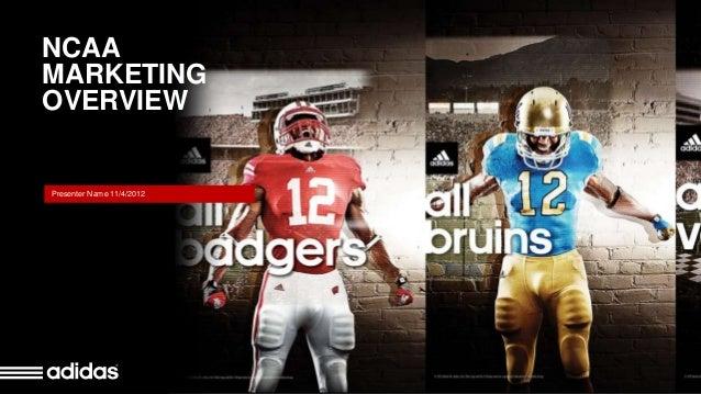 Adidas NCAA Title Slide