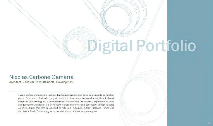 N.Carbone Gamarra   Architect   Portfolio (Reduc)