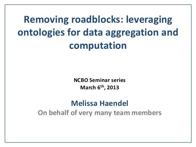 NCBO haendel talk 2013