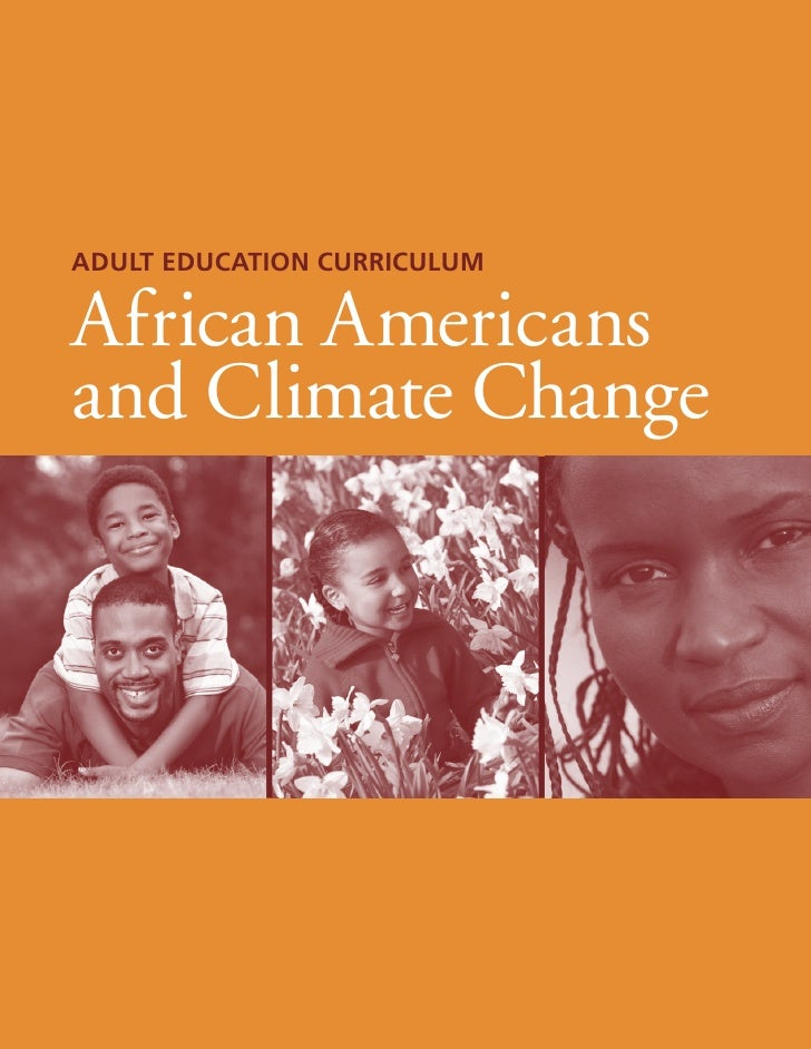 Adult Education CurriculumAfrican Americansand Climate Change