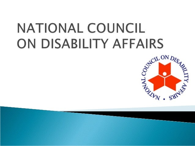  LEGAL BASES Executive Order No. 33 (2011) – Transferring the National Council on Disability Affairs (NCDA) from the Off...