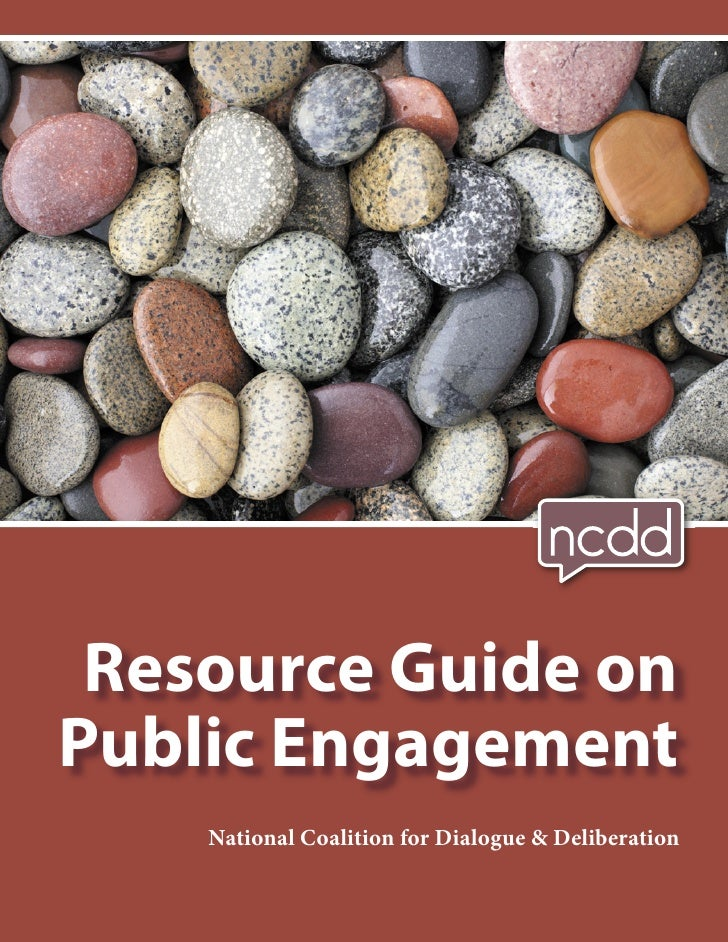 Resource Guide onPublic Engagement    National Coalition for Dialogue & Deliberation