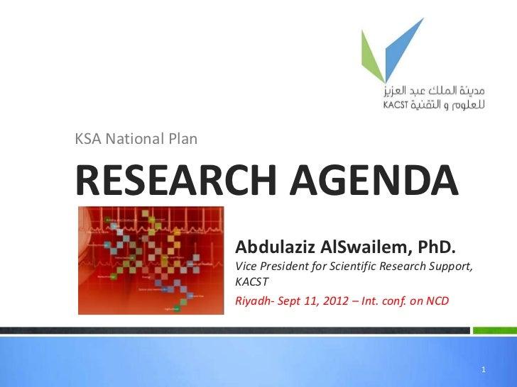 KSA National Plan NCD
