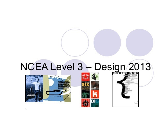 Ncea level3–design