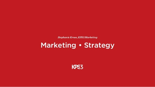 Marketing + Strategy