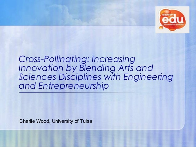 Open 2013:  Cross-Pollinating: Increasing innovation by blending arts & sciences + engineering + entrepreneurship