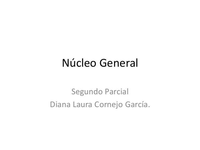 Núcleo General     Segundo ParcialDiana Laura Cornejo García.