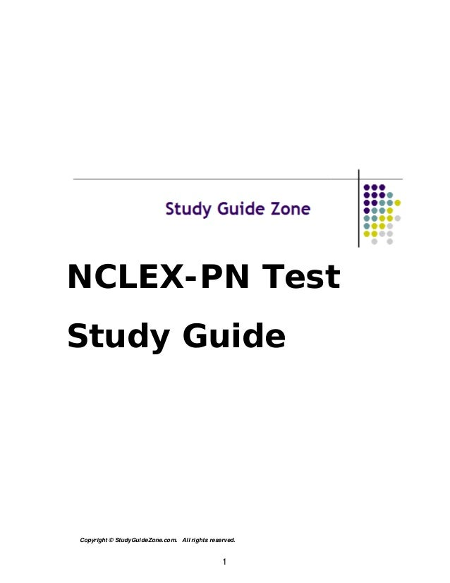NCLEX-PN Study Guide