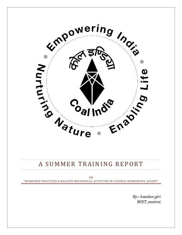 Ncl summer training report