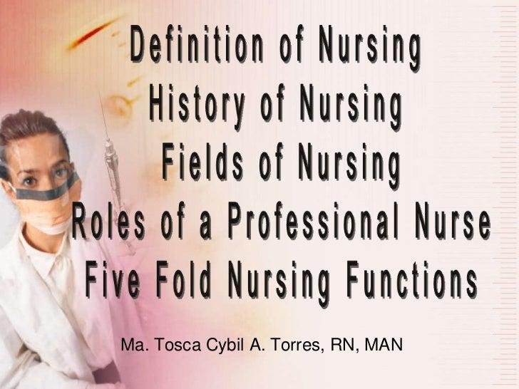 Ma. Tosca Cybil A. Torres, RN, MAN
