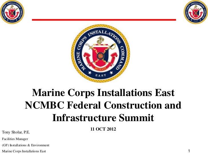 Marine Corps Installations East