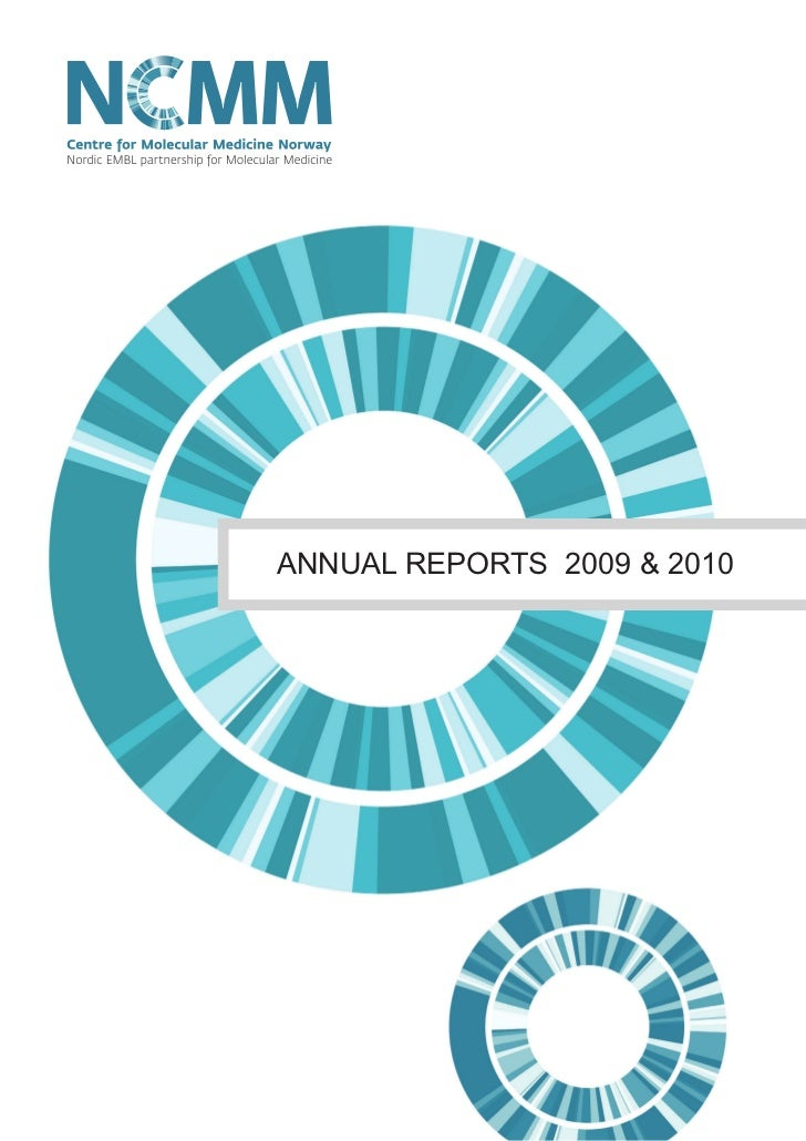 NCMM Annual Reports 2009 & 2010