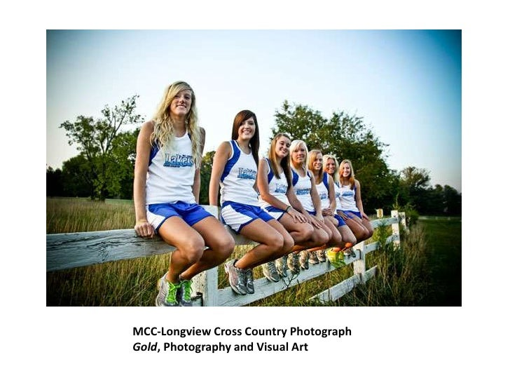 MCC-Longview Cross Country Photograph<br />Gold, Photography and Visual Art<br />