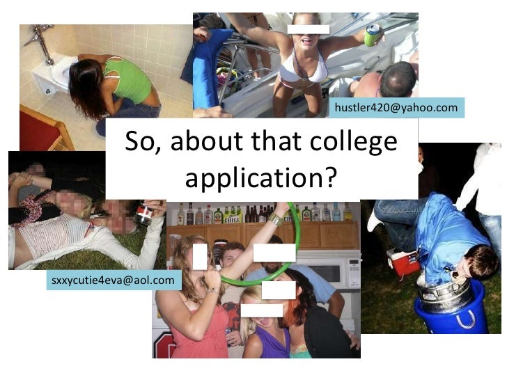 Using Social Media in the College Application Process