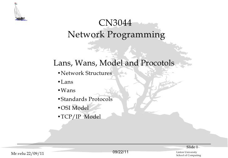 Ncsweek2 osi model