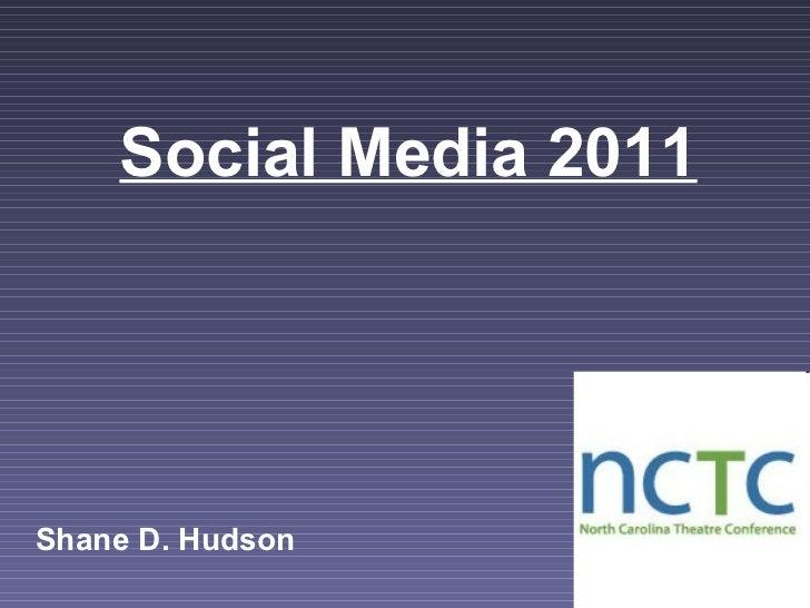 Nctc social media 2011
