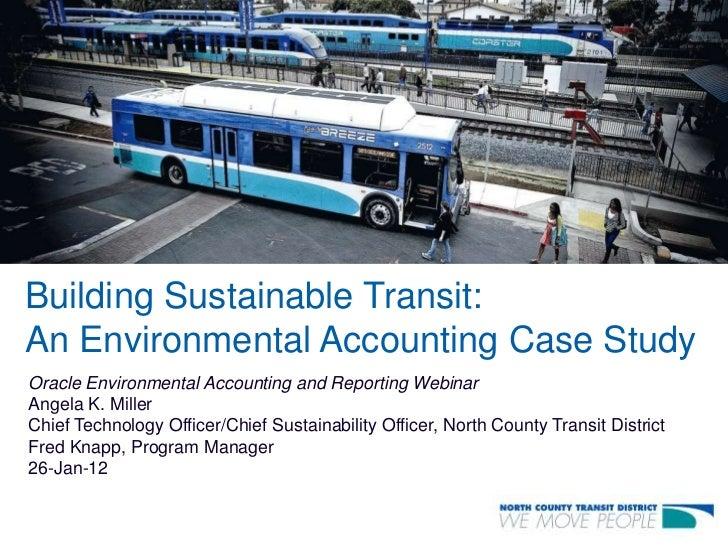 NCTD Sustainability Case Study