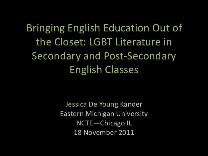 Jessica De Young Kander NCTE 2011