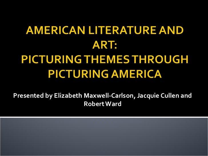 American Literature & Its Art, Final